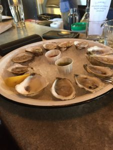 Oysters at Seabear